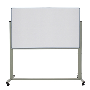 APEX 1 SIDED MAGNETIC WHEEL WHITEBOARD 80 X 120CM