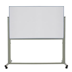 APEX 1 SIDED WHEEL WHITEBOARD 80 X 120CM