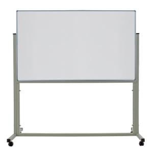 APEX 1 SIDED WHEEL WHITEBOARD 120 X 180CM