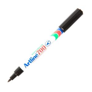 ARTLINE ปากกาเคมีหัวกลม EK-700 0.7มม. ดำ