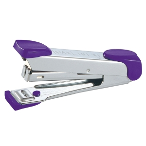 MAX HD-10 HALF-STRIP STAPLER PURPLE
