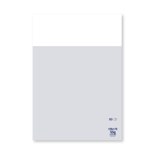 NOTEPAD 120MM X 170MM 55G 80 SHEETS