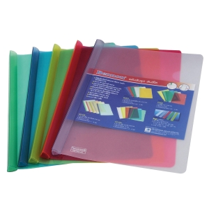 BENNON CC1423 SLIDE FOLDER 14MM ASSORTED COLOURS - PACK OF 5
