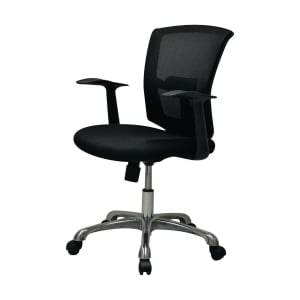 ZINGULAR GRACE OFFICE CHAIR BLACK