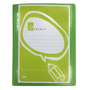 ORCA A995 2-D-RING BINDER FOLDER A4 1   GREEN