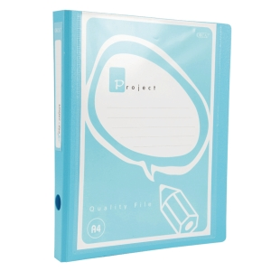 ORCA A995 2-D-RING BINDER FOLDER A4 1   BLUE