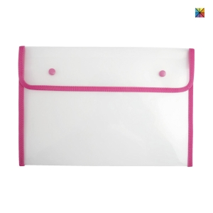 BINDERMAX 01130 PLASTIC ENVELOPE A4 ASSORTED COLOURS