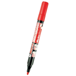ตราม้า ปากกาไวท์บอร์ด H-22 หัวกลม แดง