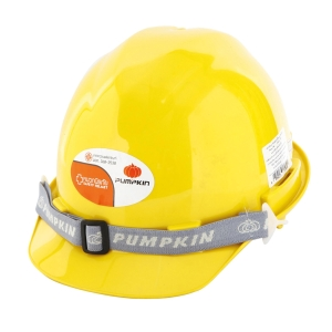 PUMPKIN SAFETY HELMET TURN YELLOW