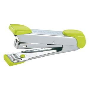 MAX HD-10 HALF-STRIP STAPLER GREEN