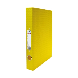 HORSE H-127 2-O-RING BINDER FOLDER A4 1.5   YELLOW