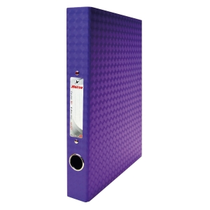 HORSE H-127 2-O-RING BINDER FOLDER A4 1.5   PURPLE