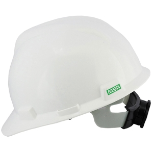 MSA V-GARD GB SAFETY HELMET PULL WHITE