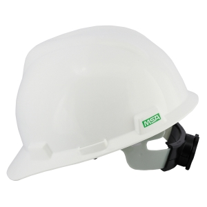 MSA V-GARD ANSI SAFETY HELMET TURN WHITE