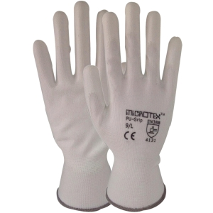 MICROTEX GLOVES COTTON PAIR LARGE