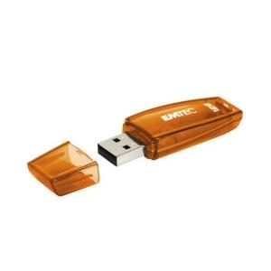 EMTEC แฟลชไดรฟ์ รุ่น ECMMD128GC410 128GB สีส้ม