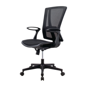 ELEMENTS MANACO 05D OFFICE CHAIR BLACK