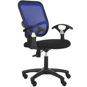 ACURA JO01/A OFFICE CHAIR FABRIC BLUE