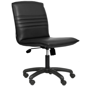 ACURA CR1 OFFICE CHAIR PVC BLACK