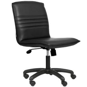 ACURA เก้าอี้สำนักงาน CR1 หนังเทียม ดำ