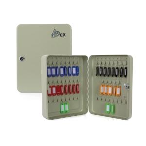 APEX ตู้เก็บกุญแจ AP-0050 45ตะขอ 240X80X300มม. สีครีม