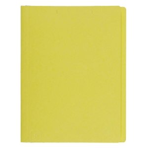 BAIPO PAPER FOLDER A4 300 GRAMS YELLOW - PACK OF 50