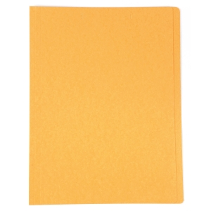 BAIPO PAPER FOLDER A4 300 GRAMS ORANGE - PACK OF 50