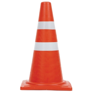 TRAFFIC CONE ECO 70 CENTIMETRES 2 STRIPE