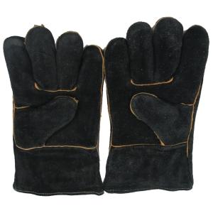 ถุงมือ 13 นิ้ว ดำ คู่