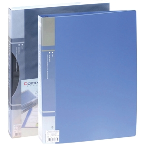 COMIX SC600 BUSINESS CARD FOLDER FOR 600 CARDS ASSORTED COLOURS