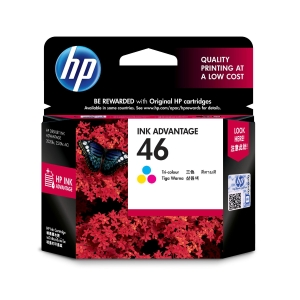 HP ตลับหมึกอิงค์เจ็ท HP46 CZ638AA 3 สี