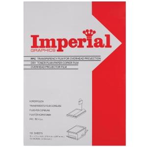 IMPERIAL แผ่นใสถ่ายเอกสารA4 100MI 100 แผ่น