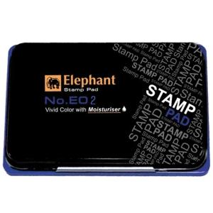 ELEPHANT E02 STAMP PAD 7CM X11CM BLUE
