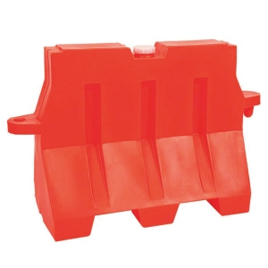 PLASTIC BARRIER 80X50X100 ORANGE