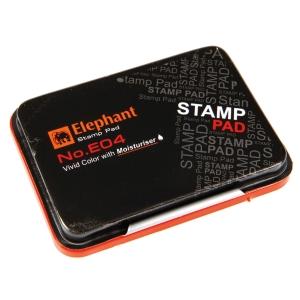 ELEPHANT E04 STAMP PAD 4.8CM X7CM RED