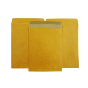 OPEN-END ENVELOPE KA KARFT SIZE 10  X 14  125GRAM BROWN - PACK OF 50