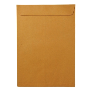 OPEN-END ENVELOPE KA KARFT SIZE 11  X 16  125GRAM BROWN - PACK OF 50