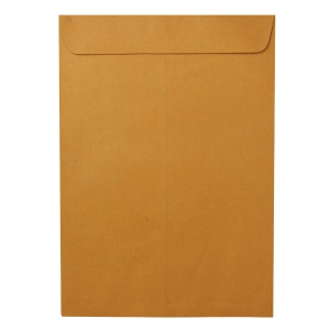 OPEN-END ENVELOPE KA KARFT SIZE 6.3/8  X 9  (C5) 125GRAM BROWN - PACK OF 50