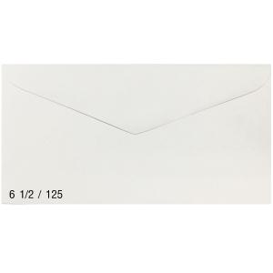 ซองขาวฝาสามเหลี่ยม เบอร์ 6 1/2/125 70แกรม ขนาด 3.3/4 X6.1/2  แพ็ค 500ซอง