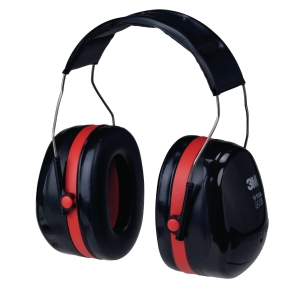 3M PELTOR OPTIME H10A EARMUFF 30dB RED