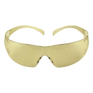 3M แว่นตานิรภัย SECURE FIT SF203AF เคลือบสารป้องกันการเกิดฝ้า เลนส์เหลือง