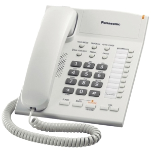 PANASONIC KX-TS840MXW PHONE WHITE