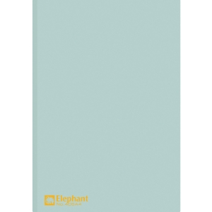 ELEPHANT 405 PLASTIC FOLDER A4 150MU LIGHT BLUE - PACK OF 12