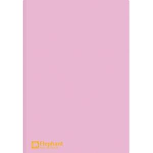 ELEPHANT 405 PLASTIC FOLDER A4 150MU PINK - PACK OF 12