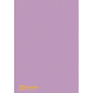 ELEPHANT 405 PLASTIC FOLDER A4 150MU PURPLE - PACK OF 12