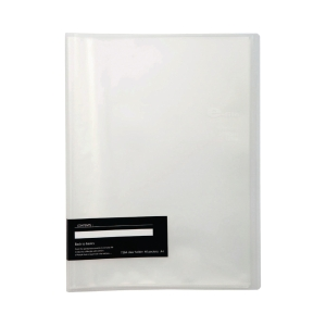 E-FILE 710A DISPLAY BOOK NON-REFILLABLE A4 20 POCKETS WHITE