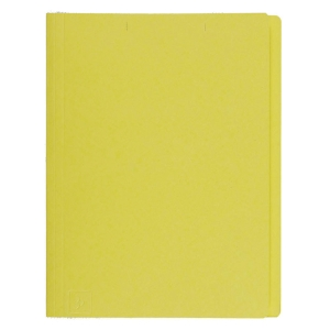 BAIPO แฟ้มพับกระดาษ A4 230 แกรม เหลือง แพ็ค 100 เล่ม