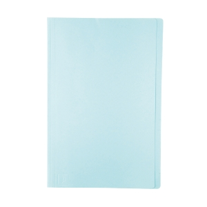 BAIPO แฟ้มพับกระดาษ F 230 แกรม ฟ้า  แพ็ค 100 เล่ม