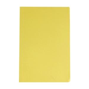 BAIPO แฟ้มพับกระดาษ F 230 แกรม เหลือง แพ็ค 100 เล่ม