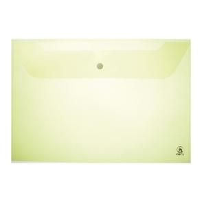 ORCAซองเอกสารกระดุม 120 A4 แนวนอน สีเขียว แพ็ค 12 ซอง